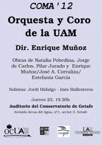 Concierto Getafe UAM