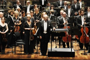 Con la Orquesta Sinfónica de Castilla y León (¿)