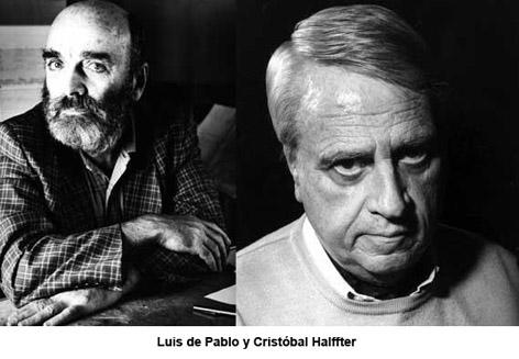 De Pablo y Cristóbal Halffter