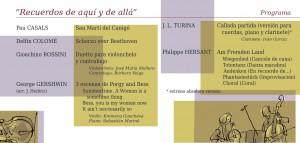 Invitación - Concierto Sonor Ensemble 6.5.2014 bis