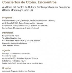 orquesta cambra