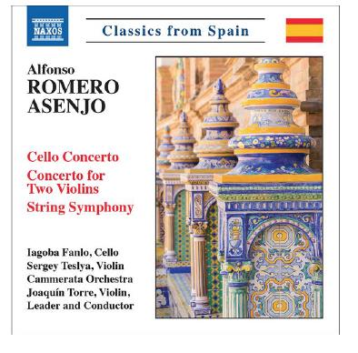 Disco de Alfonso Romero Asenjo para Naxos