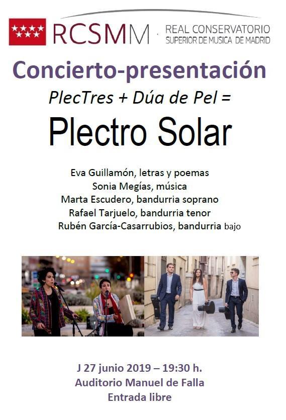 Plectro Solar: Sonía Megías en RCSMM