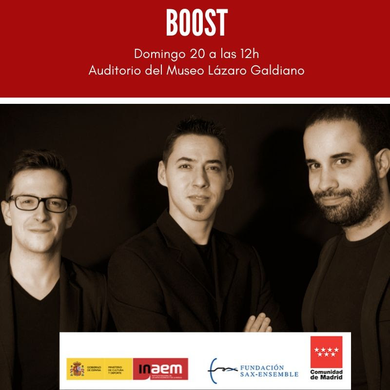 El grupo BOOST interpreta a Consuelo Díez en el Museo Lázaro Galdiano