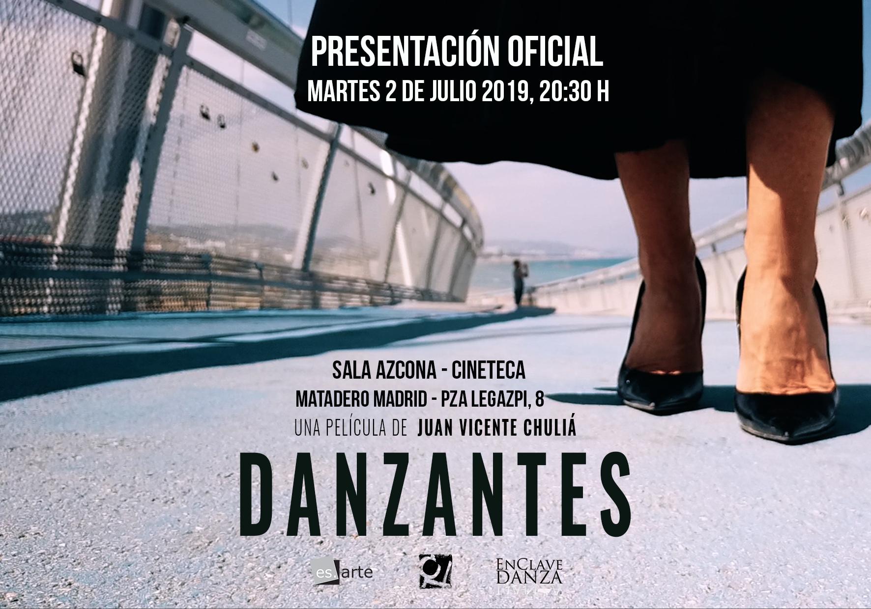 Danzantes: documental de Juan Vicente Chuliá con música de Paús, Román, Jusid, Talavera y Lázaro
