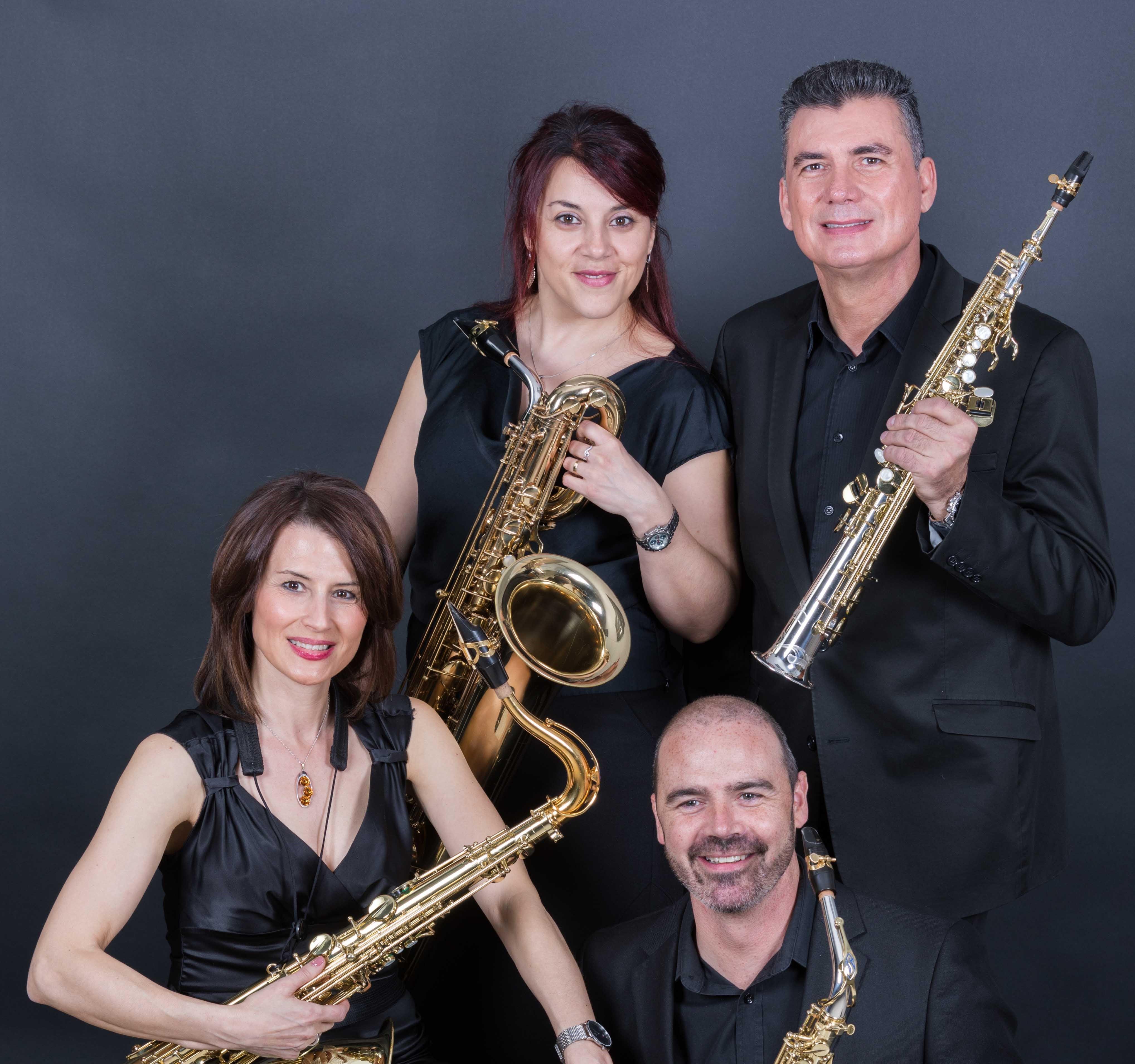 Sax Ensemble interpreta a Durán-Loriga, Megías