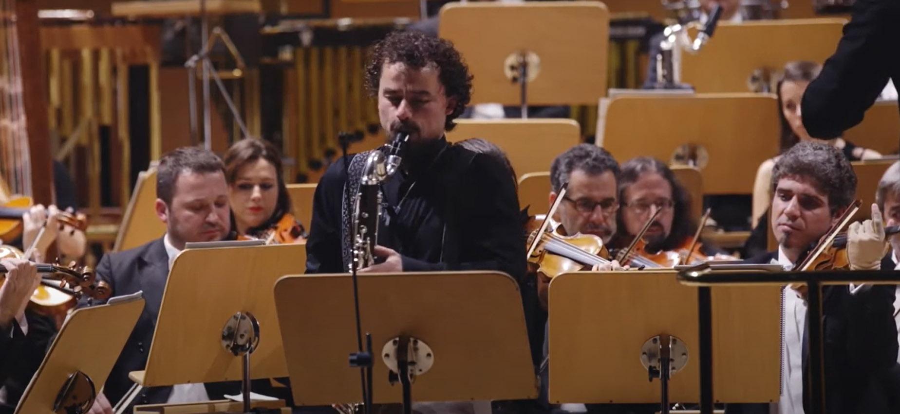 La OCNE publica en redes un concierto de Ramón Paús