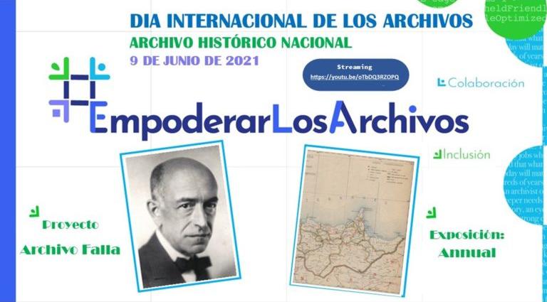 Marco, Ruiz del Corral y Seco de Arpe en el Día Internacional de los Archivos